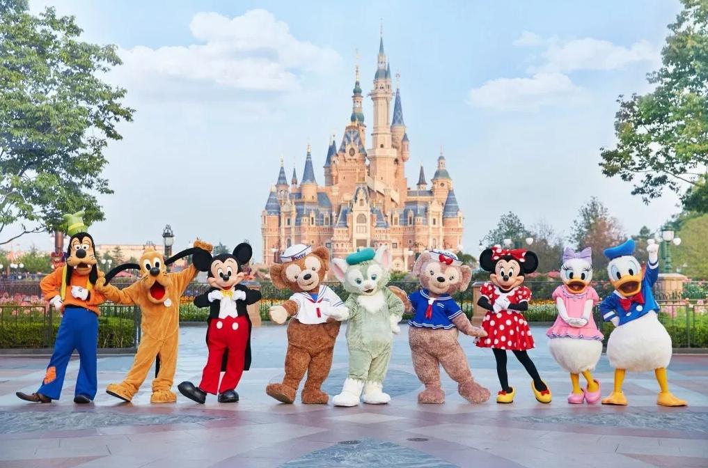 上海ディズニーランド旅行